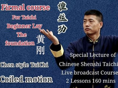 TaiChi Basic Coiled skills<br>2 lessons-160mins<br>Beginner course